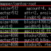 【xfs_info】コマンドの見方, XFSファイルシステムの特徴