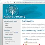 【ldapsearchは不要!】Windows PCからLDAPツリー(登録内容)を一覧化するApache Directory Studioの使い方,インストール方法